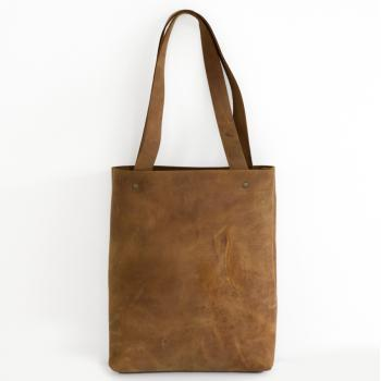 leather tote-large leather tote-brown leather tote - Distressed Brown Leather Travel Bag - Leather Market bag